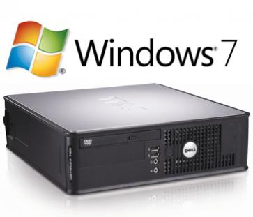 Dell Optiplex 780 SFF - E8600 - 500GB W7P