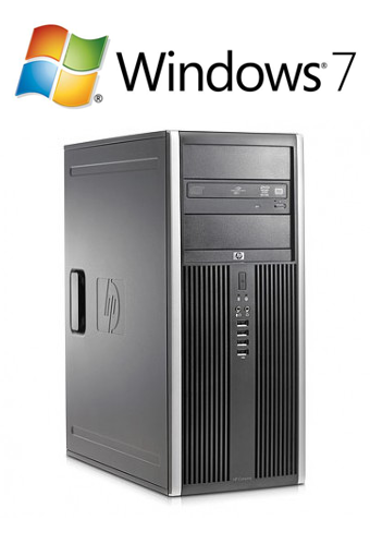 HP 8000 Elite CMT - E8400 W7P
