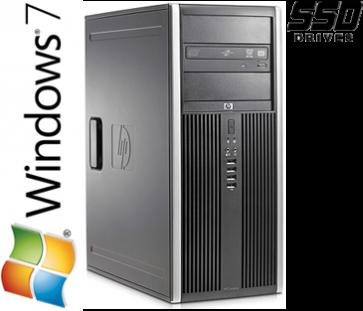 HP 8100 Elite CMT - i5-660 120GB SSD W7P
