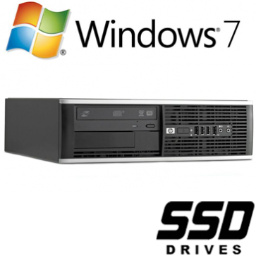 HP 8200 Elite SFF - i3-2100 120GB SSD W7P
