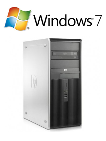 HP DC7900 CMT - E8500 W7P
