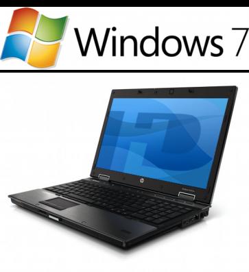 HP EliteBook 8540w - i7-740QM W7P