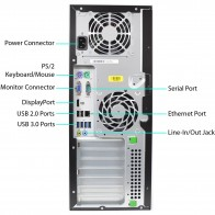 HP 8300 Elite CMT - i7-3770 250GB SSD W10P
