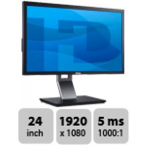 Dell Professional P2411H - 24 inch TFT monitor