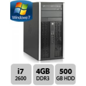 HP 8200 Elite MT - i7-2600 W7P