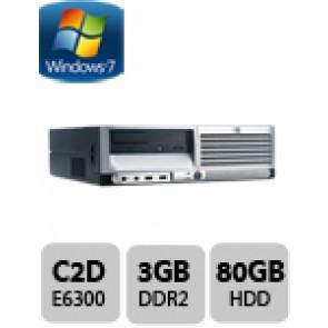 HP DC7700 SFF Desktop PC - E6300 W7P