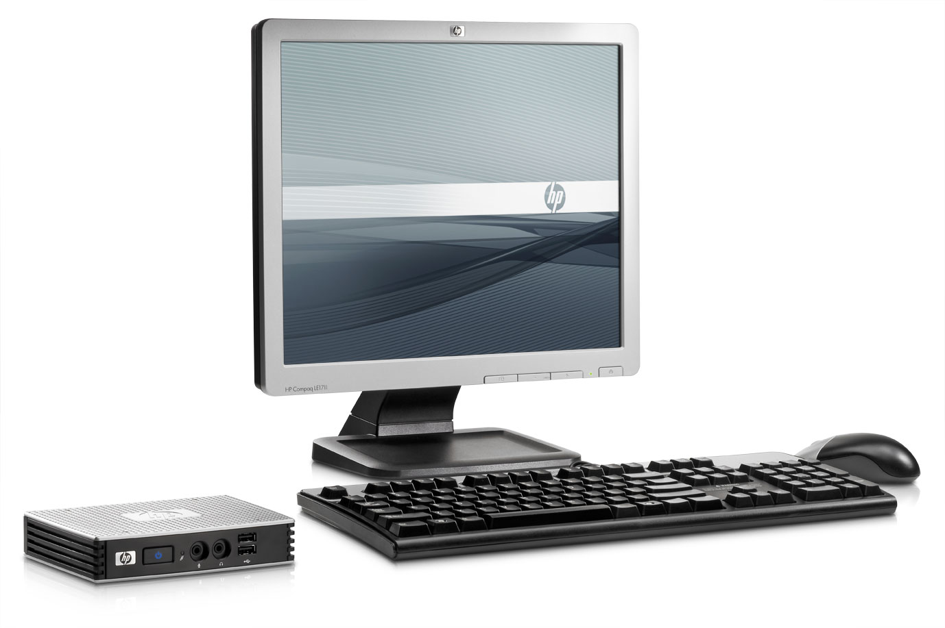 Thin Client naast