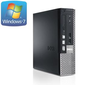 Dell Optiplex 7010 USFF - i3-3220 - 4 GB - 250 GB HDD - W7H