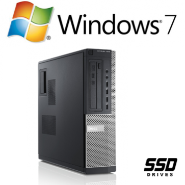 Dell Optiplex 790 DT - i3-2120 240GB SSD W7P