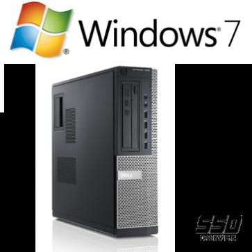 Dell Optiplex 790 DT - i3-2120 - 4GB - 250GB HDD - W7P