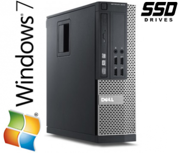 Dell Optiplex 790 SFF - i5-2400 120GB SSD W7P