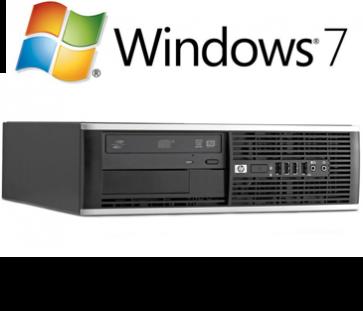 HP 6200 Pro SFF - i3-2100 120GB SSD W7P