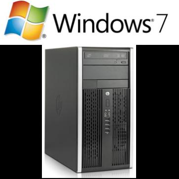 HP 6200 Pro MT - i5-2400 - 4GB - 250 GB - W7P