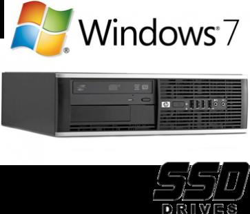 HP 8100 Elite SFF - i3-550 120GB SSD W7P