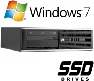 HP 8100 Elite SFF - i5-650 120GB SSD W7P