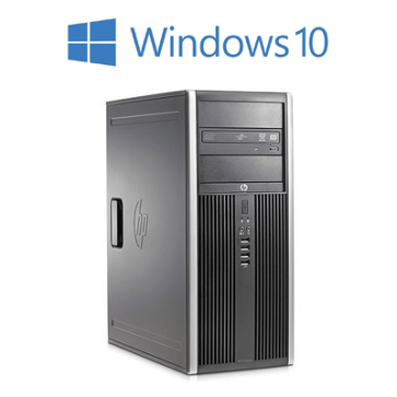 HP 8300 Elite CMT - i7-3770 240GB SSD + 500GB HDD W10P