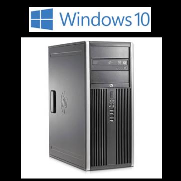 HP 8200 Elite CMT - i5-2400 - 8 GB - 240 GB - W10P