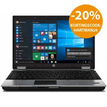 HP EliteBook 8440P - i5-M520 - 6GB RAM - 240GB SSD - W10P