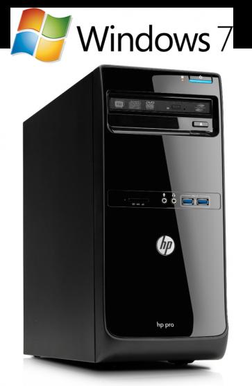 HP Pro 3400 MT - Core i3-2120 W7P