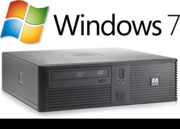 HP RP5700 SFF - E7400 W7P - Kassasysteem