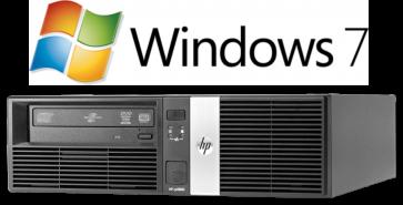 HP RP5800 SFF - G850 - 4GB RAM - 250GB HDD - W7P