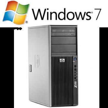 HP Z400 Workstation - Xeon W3520 W7P