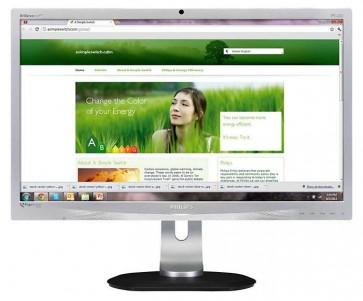 Philips 231P4Q - 23 inch IPS LED Monitor - Met ingebouwde Webcam!