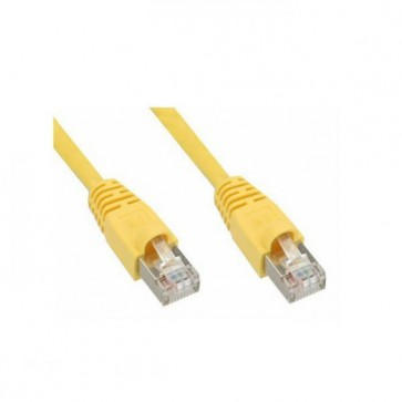 UTP kabel CAT5 2 meter - Geel
