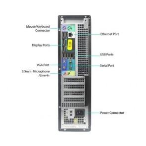Dell OptiPlex 7010 DT - i3-3240 - 4GB - 250GB HDD - W10H