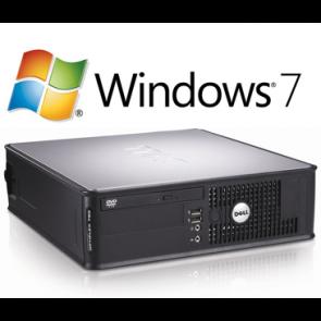 Dell Optiplex 780 SFF - E8600 - 4GB - 250GB HDD - W7P