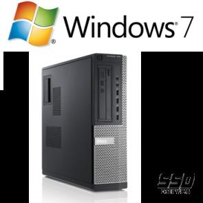 Dell Optiplex 790 DT - i3-2120 240GB SSD W7P