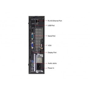 Dell Optiplex 790 USFF - i3-2100 - 4GB - 240GB SSD - W10P