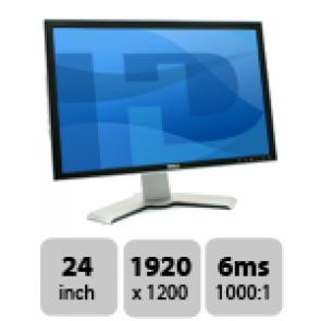 Dell UltraSharp 2407WFP - 24 inch TFT monitor