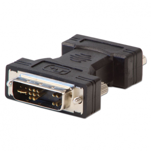 DVI-A Male to VGA Female - Zwart