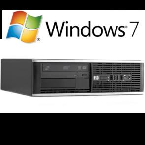 HP 6000 Pro SFF - Pentium Dual Core-  E5300 - 4GB RAM - 250GB HDD - W7P
