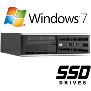 HP 8100 Elite SFF - i5-650 120GB SSD W7P