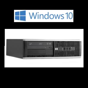 HP 8200 SFF i5-2400 4GB 500GB HDD W10P DVD speler