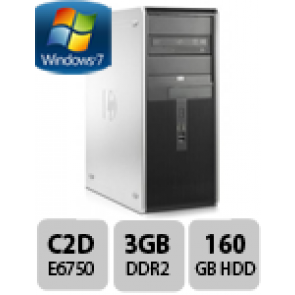 HP tower PC DC7800 CMT - E6750 W7P