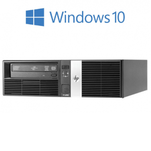 HP RP5800 SFF - G850 - 4GB RAM - 500GB HDD - W10P