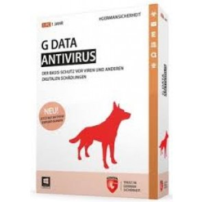 G Data AntiVirus 1-PC 1 jaar - Als beste getest!