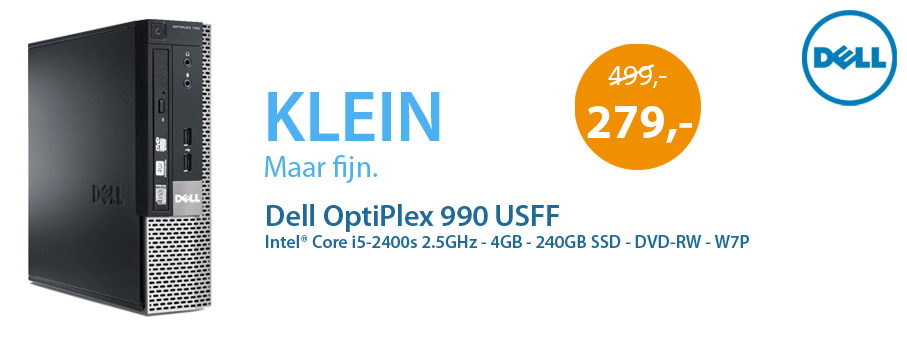 Banner Dell OptiPlex 990 USFF