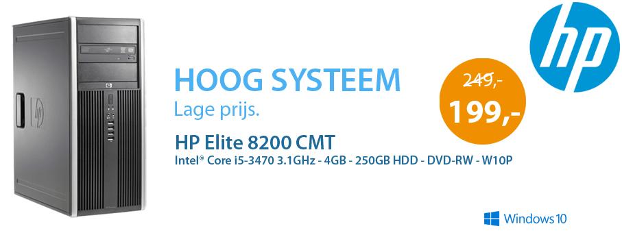 HP Elite 8200 CMT aanbieding